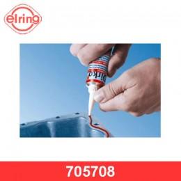 Герметик Dirko HT красный силиконовый 70мл (от -60С до +315С)