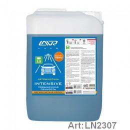 Автошампунь для бесконтактной мойки INTENSIVE повышенная пенность 3,8 (1:40-1:60) LAVR Auto shampoo INTENSIVE 5,5 кг