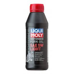 5W Масло для вилок и амортизаторов Motorbike Fork Oil (синтетическое) 0,5л