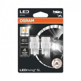 LEDriving SL (3поколение) 1,3W/12V W21/5W W3X16Q BLI2 оранжевый 2шт