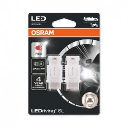 LEDriving SL (3поколение) 1,4W/12V P27/7W W2.5X16Q BLI2 красный 2шт