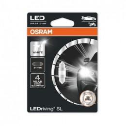 LEDriving SL (3поколение) 1,0W/12V C5W (31 mm) SV8.5-8 BLI1 белый 6000K