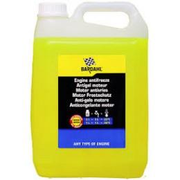 ENGINE ANTIFREEZE Антифриз концентрат G12+ желтый, 5л