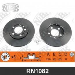 RN1082V Диск тормозной | перед |